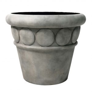 32″ dia Commercial Planter Cement