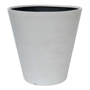 "30"" dia Commercial Planter Cement Gray"