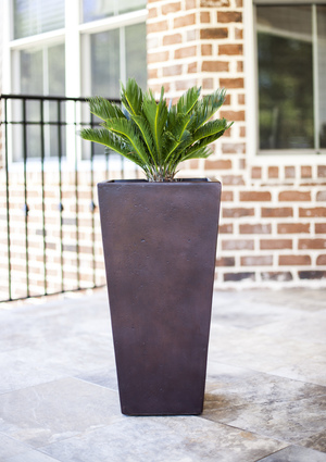 Square Tapered Pineapple Planter - Affordable Nursery Pots and Large Planters