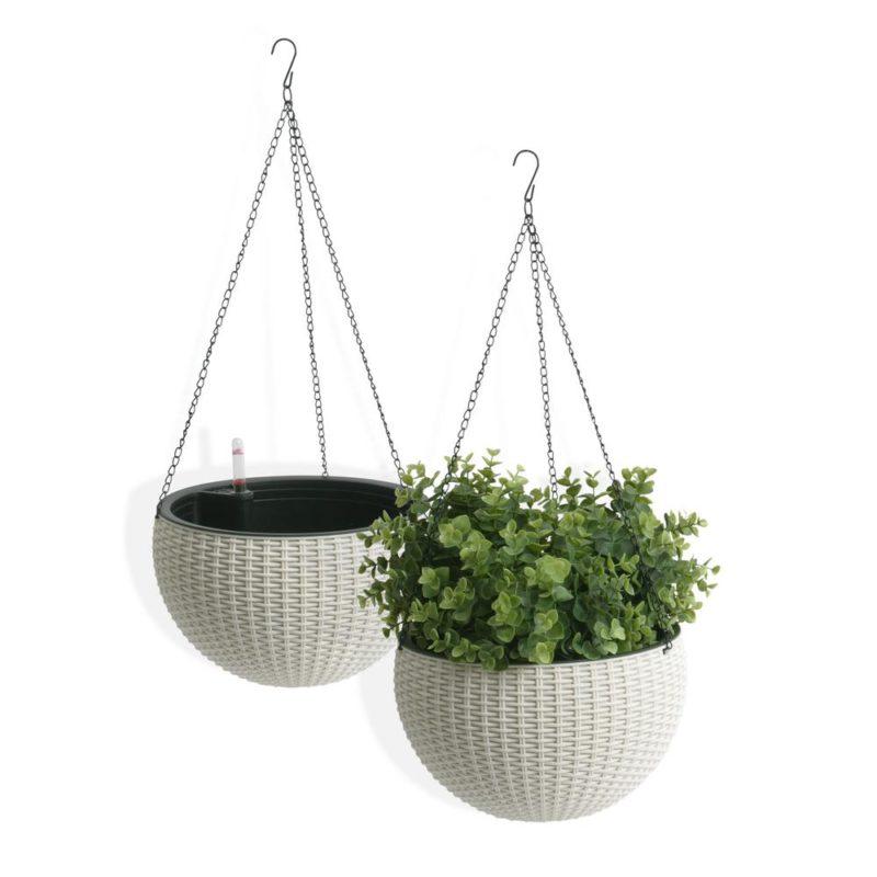 melamine hanging planter - melamine planters